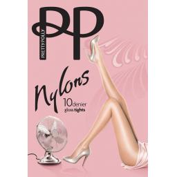 Pretty Polly NYLONS   Navy  10 Denier