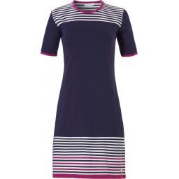 Pastunette SHORT SLEEVE DRESS Navy/White/Red