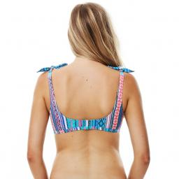 Piha Shoulder Tie BRALETTE   Persian Dream   HALF PRICE