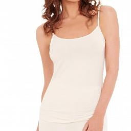 Charnos THERMAL SECOND SKIN CAMI   Black & Ivory