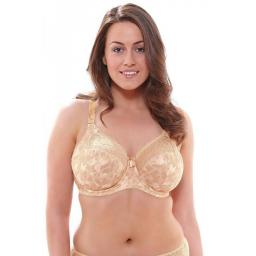 Elomi Underwired Banded BRA   Morgan   Toasted Almond