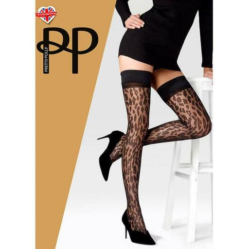 Pretty Polly HOLDUPS Animal Print One Size