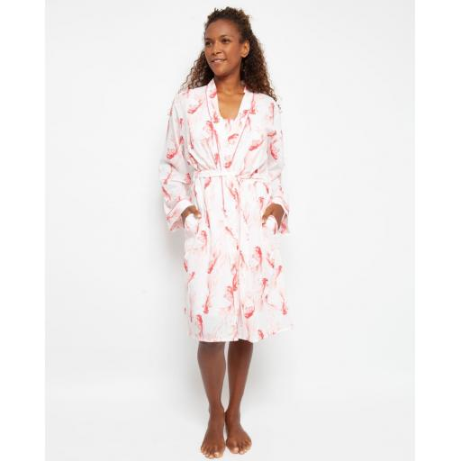 Cyberjammies ROBE Darcie Fish LAST SIZE 10 SALE !!!