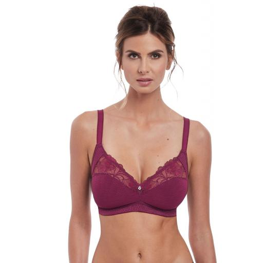 Fantasie SOFT CUP BRA Memoir Black Cherry SALE !!!