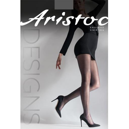 Aristoc SOFT SEMI LUREX TIGHTS Black SALE !!!