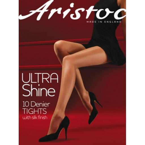 Aristoc 10 Denier TIGHTS   Illusion & Vaguely Black