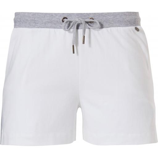 Rebelle SHORTS   White  &   Navy (Size 8 only)