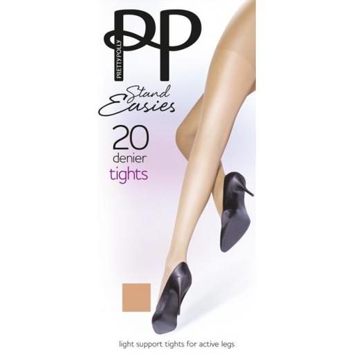Pretty Polly SUPPORT TIGHTS Stand Easies Sherry