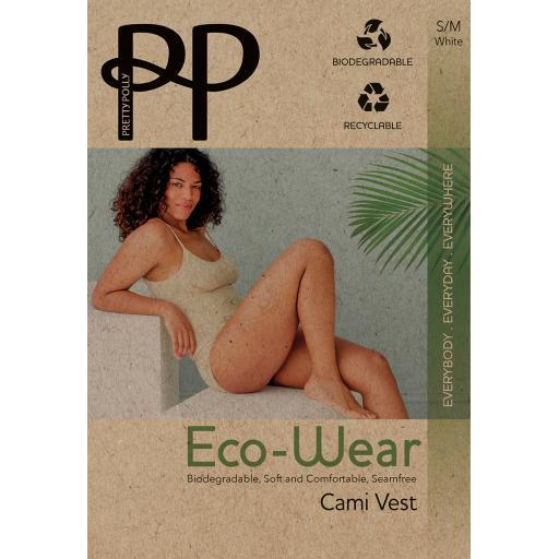 Pretty Polly ECO-WEAR CAMISOLE Black White Nude SALE !!!