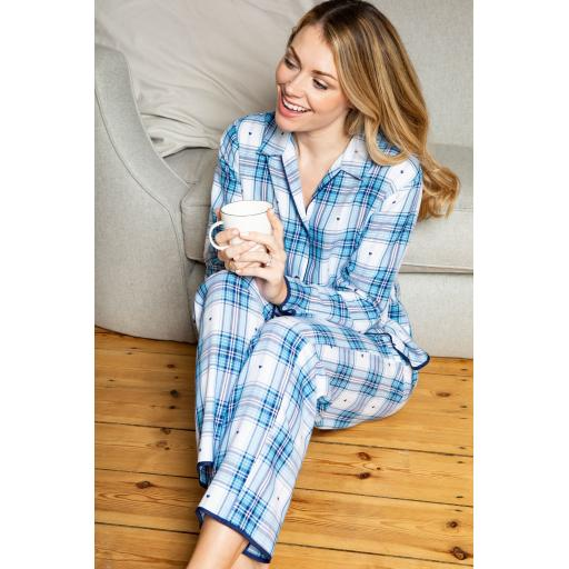 Cyberjammies PYJAMA TOP Stella Check