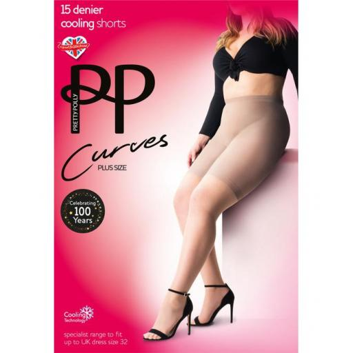 Pretty Polly COOLING SHORT Nude