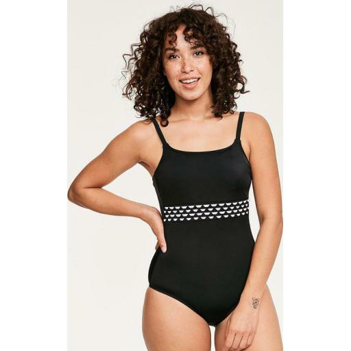 Amoena Mastectomy Pocketed/Soft Cup SWIMSUIT Cocos LAST SIZE 34C