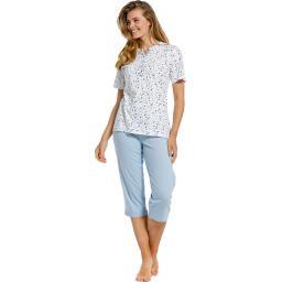 pastunette heart capri pyjama set on model.jpg