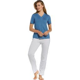 Pastunette Delux Blue pyjama set on model 2.jpg