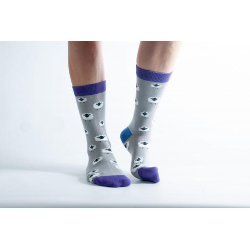 Doris and Dude BAMBOO SOCKS Sheep - Ladies Socks