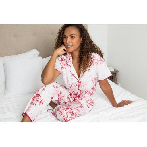 Cyberjammies Kirsten pyjamas on bed.jpg