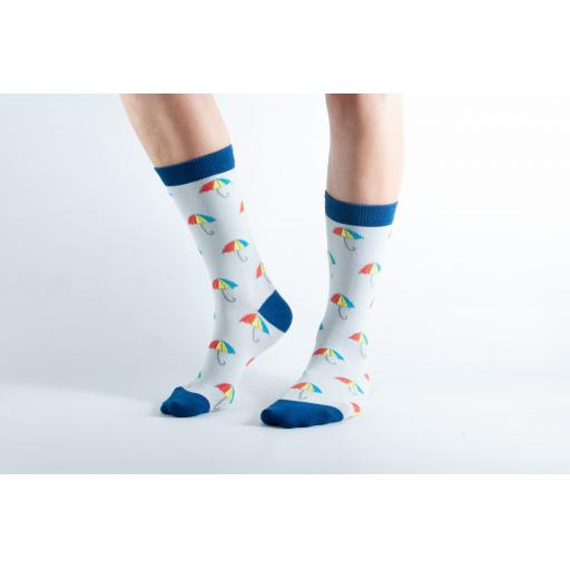Doris and Dude BAMBOO SOCKS Umbrella - Ladies Socks