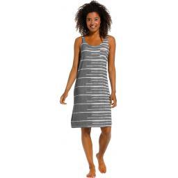 Rebelle grey sleeveless dress on model.jpg