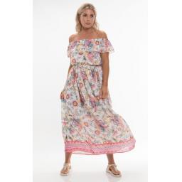 Pia Rossini Mijas Off the Shoulder Floral dress.jpg
