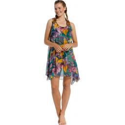Pastunette Beach Dress Green on model.jpg