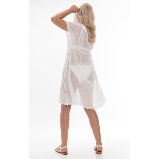Pia Rossini Malibu White Dotty Cover - up rear.jpg