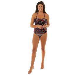 Seaspray Katherine Tribal Swimsuit on Model..jpg