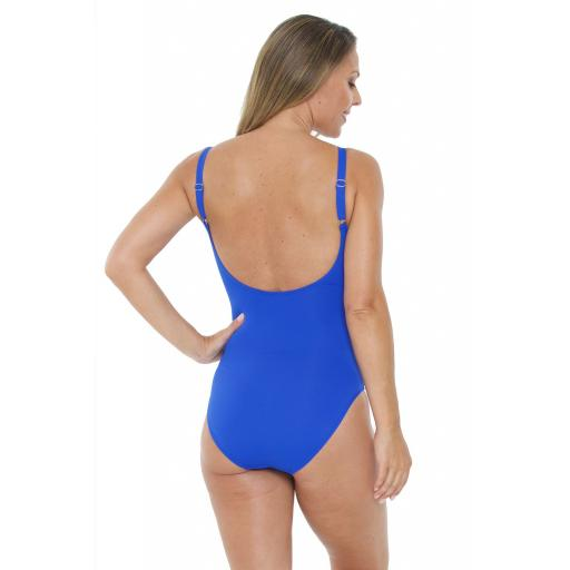 Seaspray Royal Diagonal Swimsuit rear view.jpg