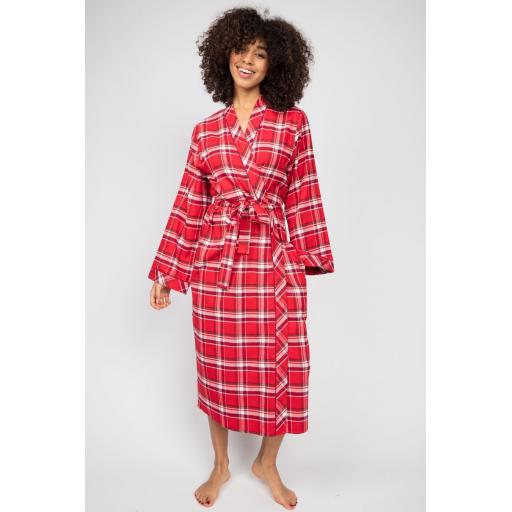 Cyberjammies BRUSHED COTTON ROBE Robyn