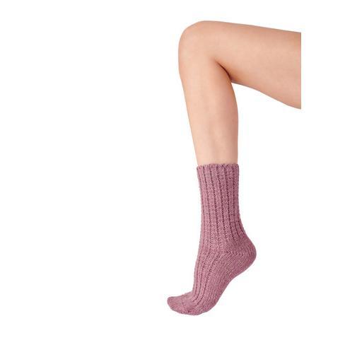 Pretty Polly Pink Chunky Socks.jpg